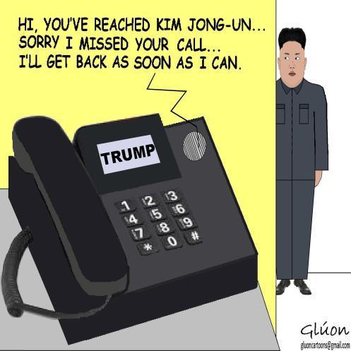 KIM JONG UN PHONE